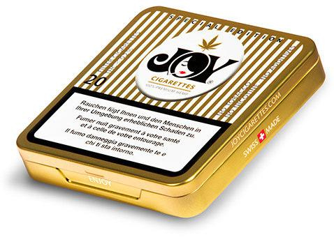 Joy Special Edition Hanfzigarette mit purem CBD