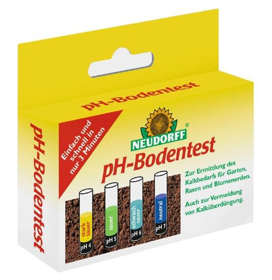 pH Bodentest