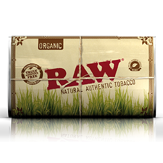 Raw Natural Authentic Tobacco Green Certified