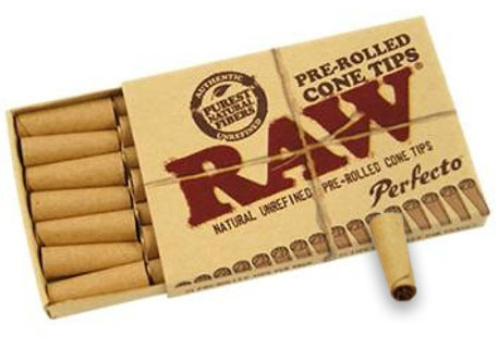 RAW Perfecto Pre-Rolled Cone Tips