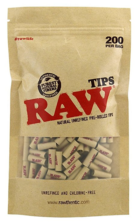 RAW Tips Prerolled Bag 200 Stk.