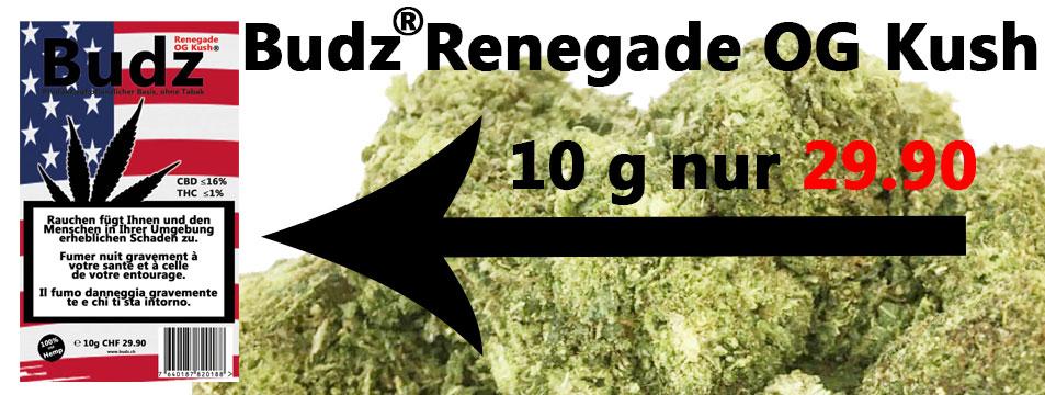 Neues Budz; Renegade OG Kush