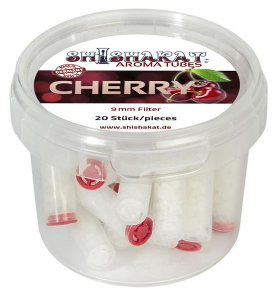 Shishakat Aroma Tubes Filter Cherry 9mm 20x