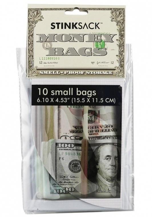 Money Bags Druckverschlussbeutel 15,5 x 11,5 cm