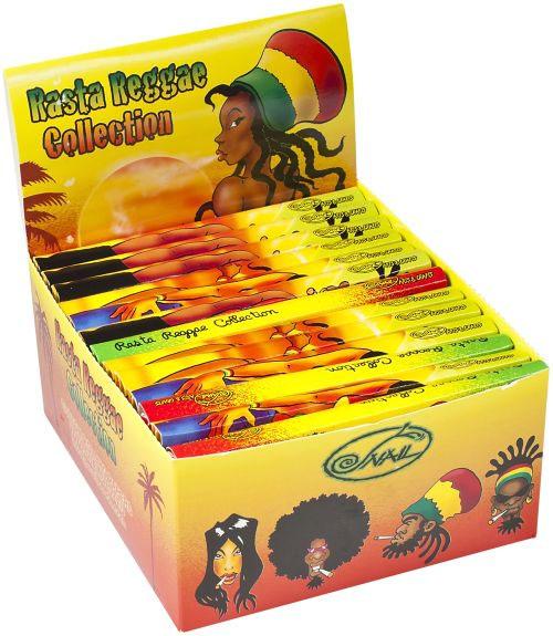Snail Rasta Reggae Collection KingSize Papers mit Filtertips