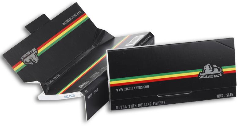 Ziggi Papers Urs 3 in 1 Black / Stripe King Size + Tips